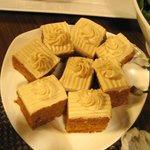 Dessert - carrot cakes