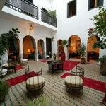 Les Trois Mages Courtyard