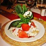 Assiette revisitée au Don Quicote (cuisine