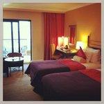Spotless bedroom