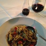 The Wild Boar with Ragout and Tagliatelle