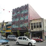 Street view of Batik Boutique Hotel
