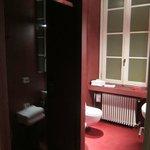 Baño de la primera habitación que nos dieron