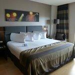 Room 602 bedroom