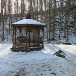 Gazebo on the grounds