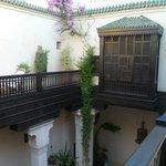Courtyard (upstairs)