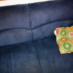 The sofa, I wish I could send one from Ikea