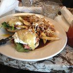 Eggs Benny special ! To die for !!!