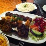 Meat platter-very nice!
