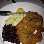 jäger schnitzel...my dish, oh so good