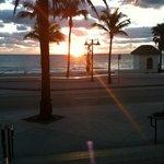 ft Lauderdale at sunrise