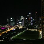 Our first glimpse of Singapore