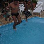 Area comum piscina