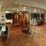 Brewery Production Floor Panorama