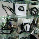 black coral earrings - WOW!