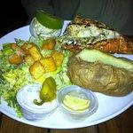 Crawfish dinner at Snappa's