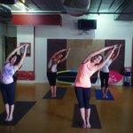 Standing Half Moon at the Yoga Energy Studio