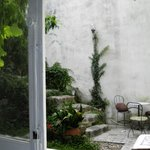 pequeño y bonito patio