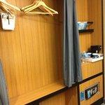 closet. I like complimentary water