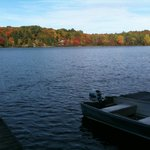 Lake near the boat docks!