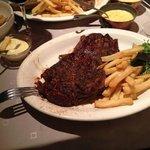 ierse steak 600 gram blue chaud