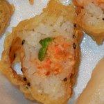 Yuki's Yammy Yammy roll - mostly just deep-fried rice!