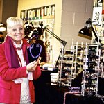 Elaina Ranger, designer owner of Pearls Plus Designs in McLean, Virginia