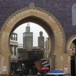 Bab Boujloud, just a short walking distance from Riad Boujlo