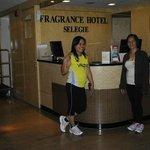 @Fragrance Hotel-Selegie front desk