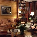 Living room at lodge