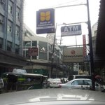 Mabini Street, Ermita view towards hotel