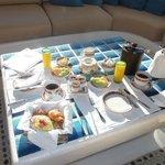 Continental breakfast room service
