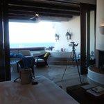 Amazing room - floor to ceiling door walls to patio