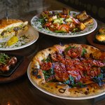 Flatbread, sandwiches, salads, just the beginning of the dishes at Flatbread!