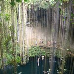 Cenote on trip from Chichen Itza