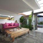 Veranda / lving room - One bedroom apartment