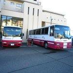 駅から無料バス