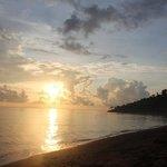 Sunrise seen from Bali Bhuana Beach