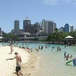 SouthBank: A beach in the city!