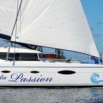 Le CATA PASSION, le plus luxueux Catamaran de la Réunion