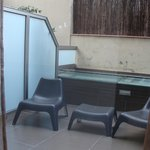 Room's private little terrace