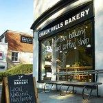 Chalk Hills Bakery shop, Bell Street, Reigate