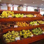 Fruit choice at the buffet restaurant
