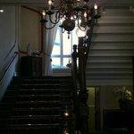 Hotellets trappa i jugendstil