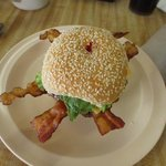 Large Bacon Cheese Burger
