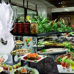 International buffet at Atyaf