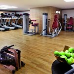 The Fitness Center with personal trainers