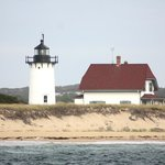 Cape Cod coast from the sea