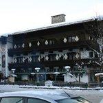 Front of Hotel Hochfilzer