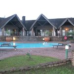 Game Lodge poolside rooms